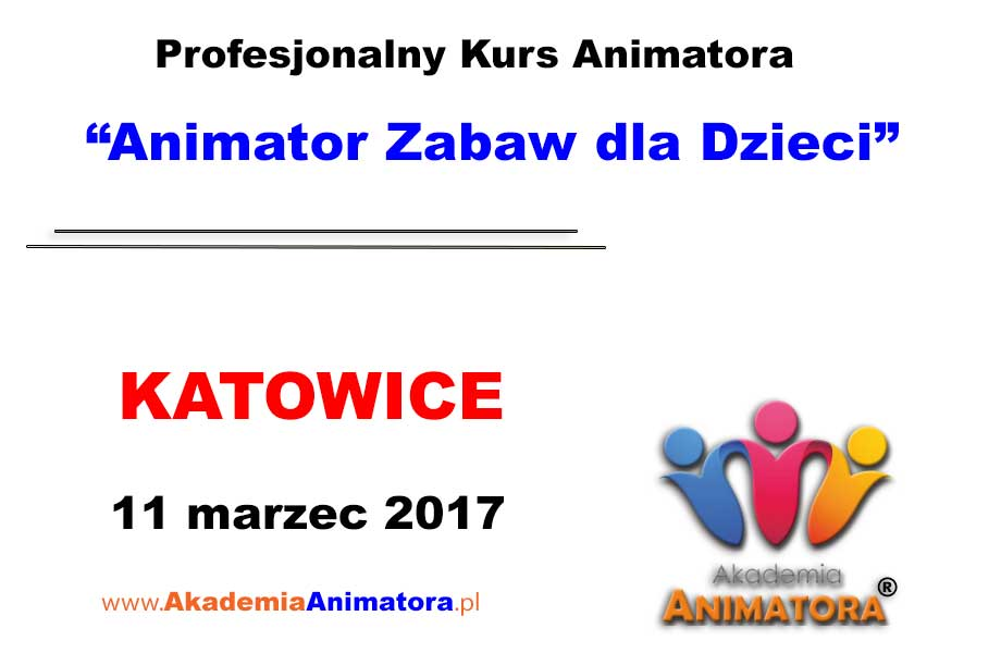 Kurs Animatora Katowice 11.03.2017
