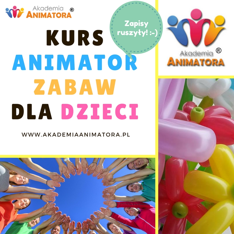 Kurs Animatora jesień 2017 – Zapisz się w Twoim mieście!
