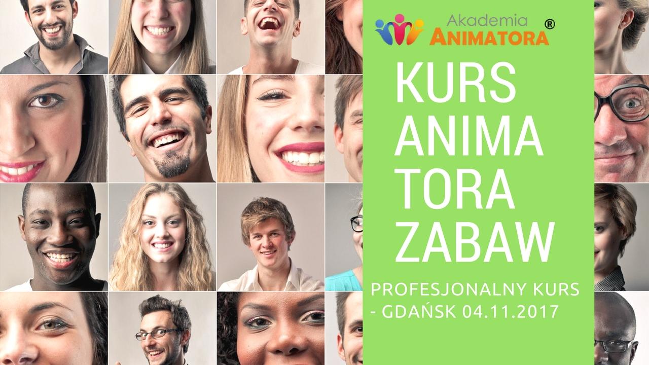 Profesjonalny Kurs Animatora Zabaw dla Dzieci Gdańsk 4.11.2017 – Zapisz się
