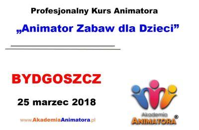 Kurs Animatora Bydgoszcz 25.03.2018