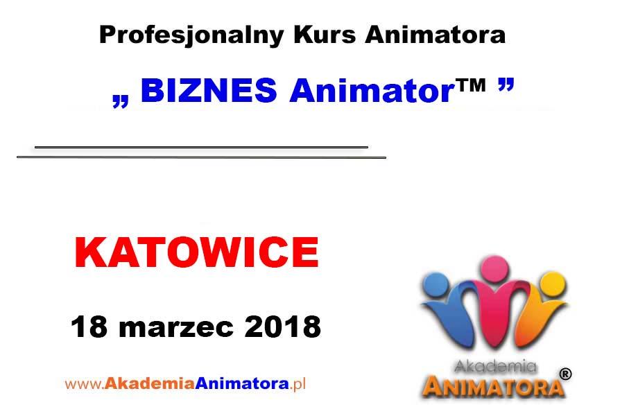 Kurs Animatora Katowice – BIZNES Animator™ 17.03.2018