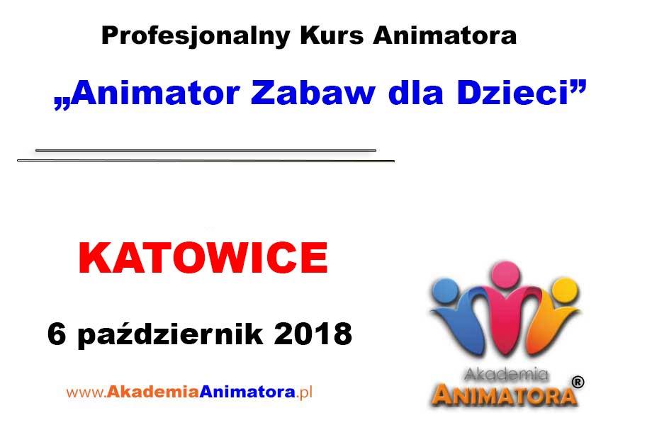 Kurs Animatora Katowice 06.10.2018