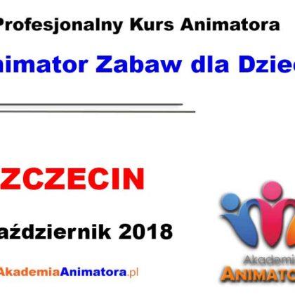 Kurs Animatora Szczecin 14.10.2018