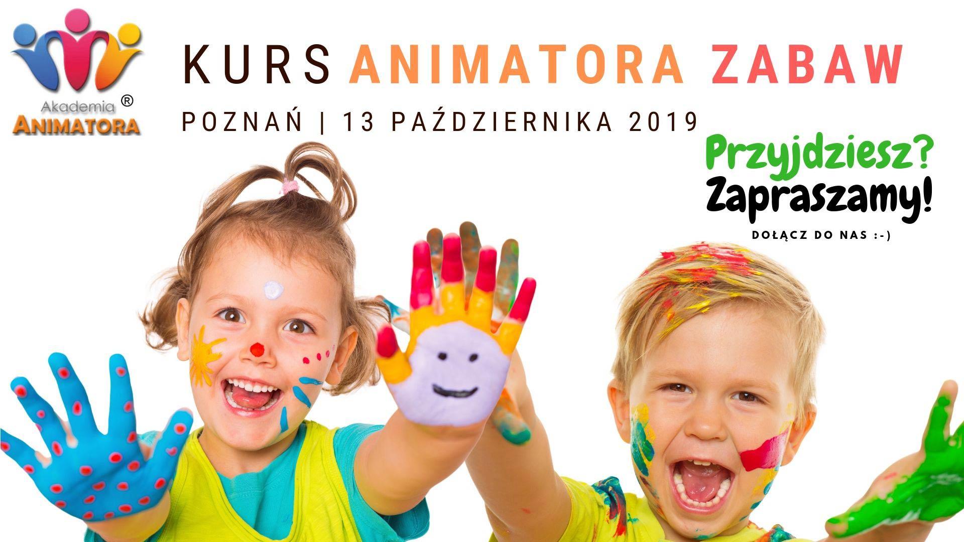 Kurs Animatora Poznań 13.10.2019
