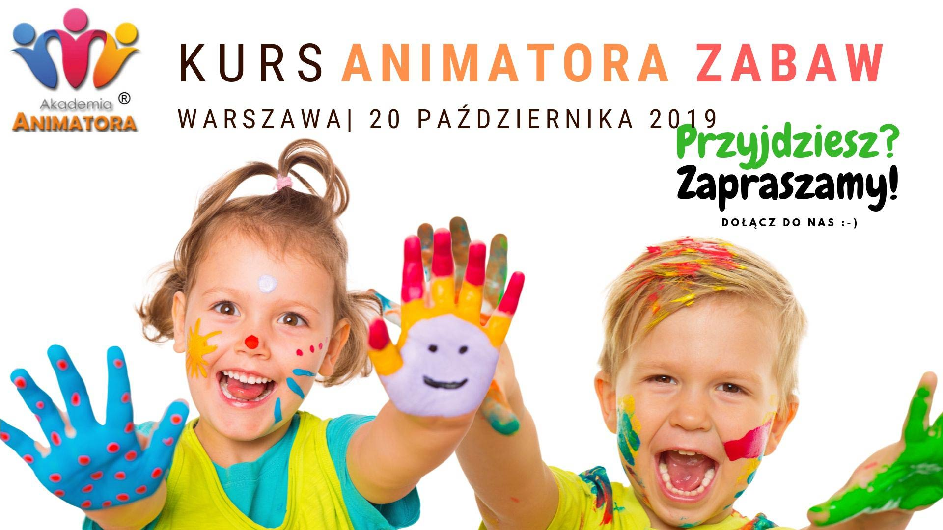 Kurs Animatora Warszawa 20.10.2019